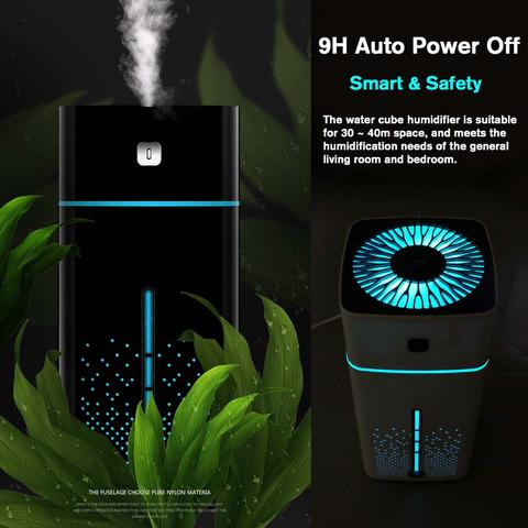 Air Humidifier 7 Colors Night Light Large Capacity for Office Home