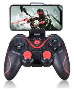 Wireless Android Gamepad T3 X3 Wireless Joystick Game Controller bluetooth BT3.0 Joystick For Mobile Phone Tablet TV Box Holder 1