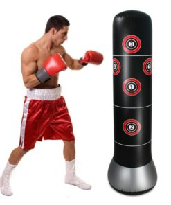 Inflatable Boxing Bag with Air Pump 1