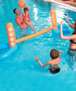 Inflatable Pool Float Set Volleyball Net 1