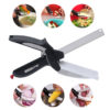 CLEVER CUTTER 2-IN-1 FOOD CHOPPER MULTI-FUNCTIONAL KITCHEN VEGETABLE SCISSOR 1