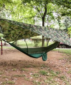Premium Portable Camping Hammock With Mosquito And Bug Net 30
